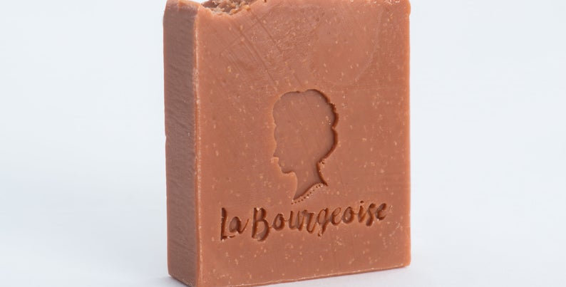 LA BOURGEOISE - Savon Arbre à thé et Argile rose
