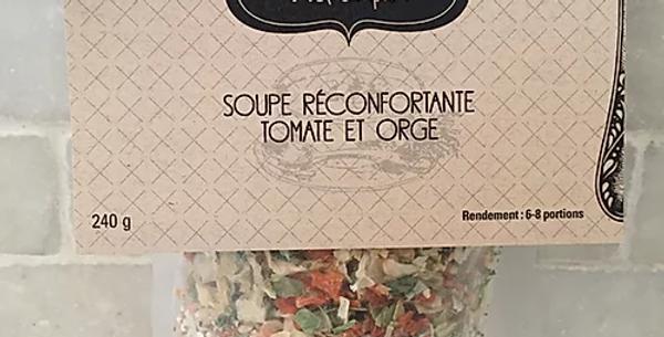 Juliette c'est simple ! - Soupe réconfortante Tomates et Orge