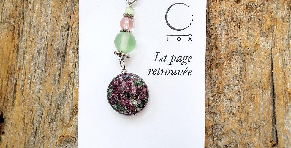 JOÂ - Marque-pages Rose et Vert pastels