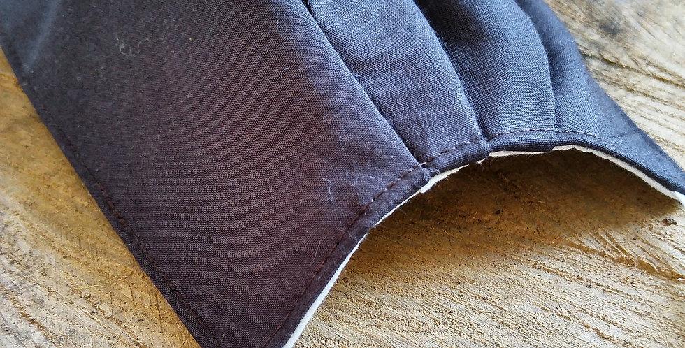 ROBÉLIE - Masque HOMME plissé brun