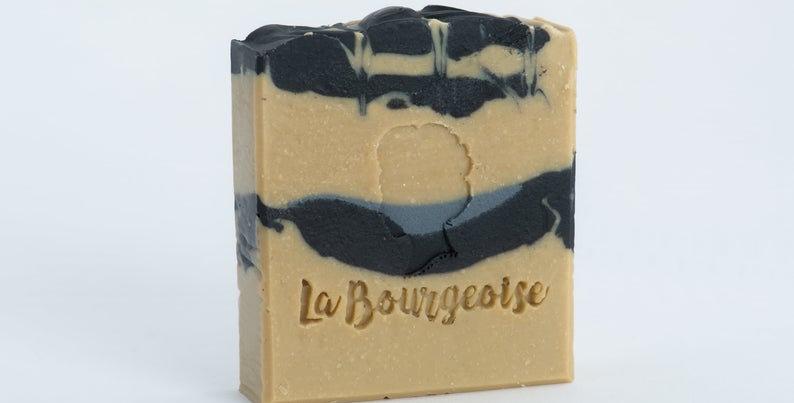 LA BOURGEOISE - Savon Citronnelle Charbonnée
