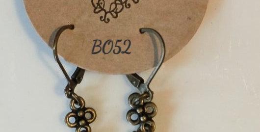 MANON - Boucles d'oreilles cuivre et émail