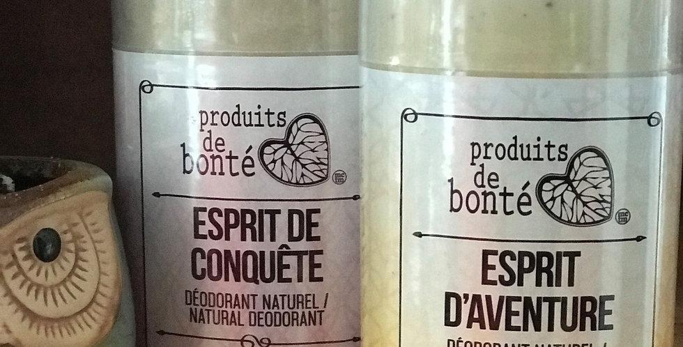 SAVONNERIE DES DILIGENCES - Déodorant Aliksir Esprit d'Aventure 50gr