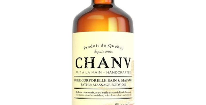 CHANV - Huile corporelle bain et massage