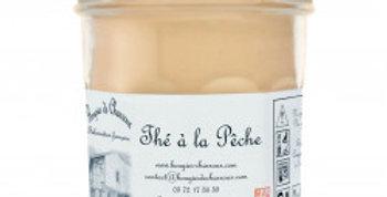 Bougies de Charroux - Thé à la pêche