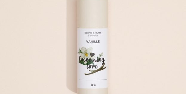 COCOONING LOVE - Baume à lèvres  végane Vanille