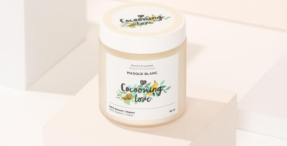 COCOONING LOVE - Masque blanc