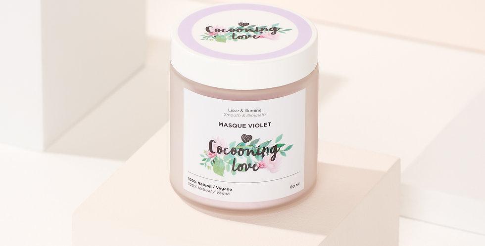 COCOONING LOVE - Masque violet