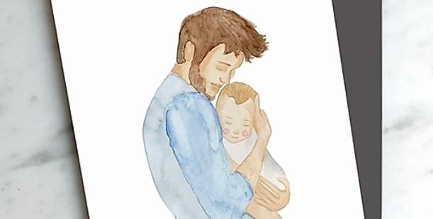 HOBEIKA ART - Carte Papa