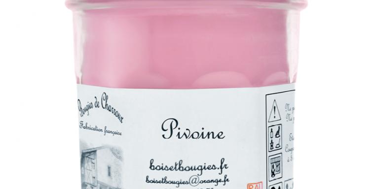 Les Bougies de Charroux - Bougie Pivoine