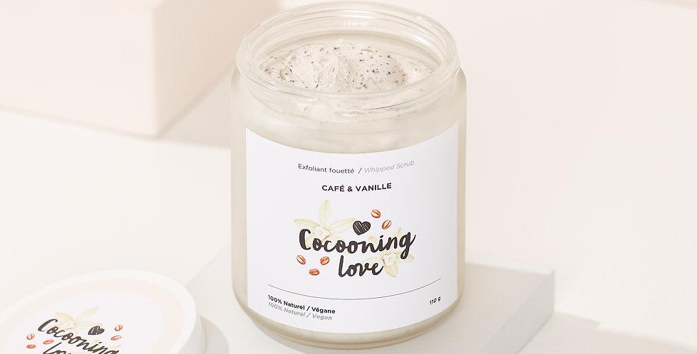 COCOONING LOVE - Beurre fouetté exfoliant doux café & vanille