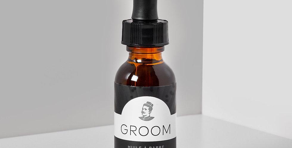 GROOM - Huile à barbe Conifère