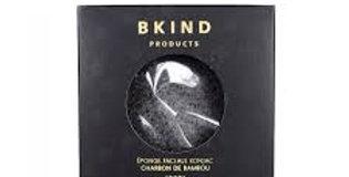 BKIND- Éponge konjac au charbon de bambou