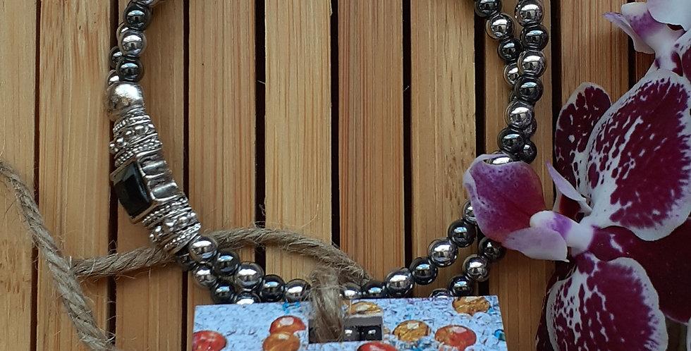 JOÂ - Bracelet d'hématite
