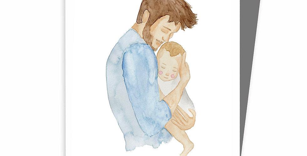 HOBEIKA ART - Carte Fête des pères