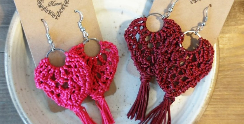 MANON - Boucles d'oreilles Collection crochet