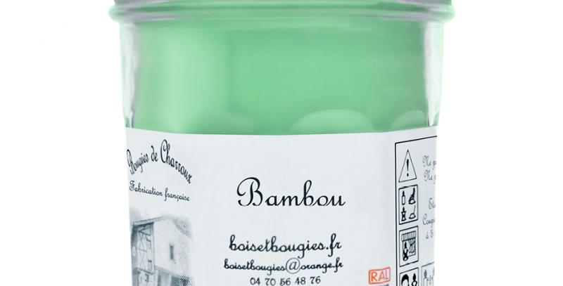 Les Bougies de Charroux - Bougie Bambou