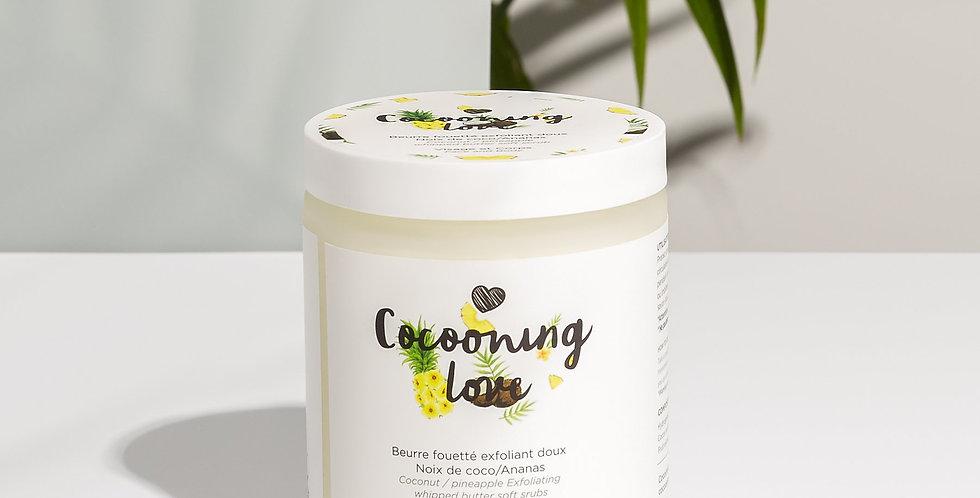 COCOONING LOVE - Beurre fouetté exfoliant doux Noix de coco/Ananas