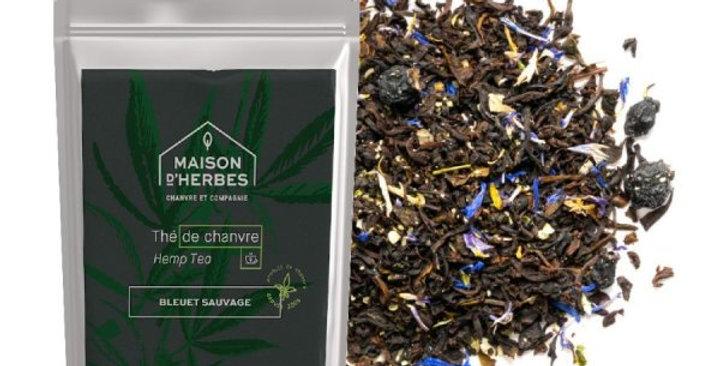 Maison d'Herbes - Thé noir au chanvre et au bleuet sauvage