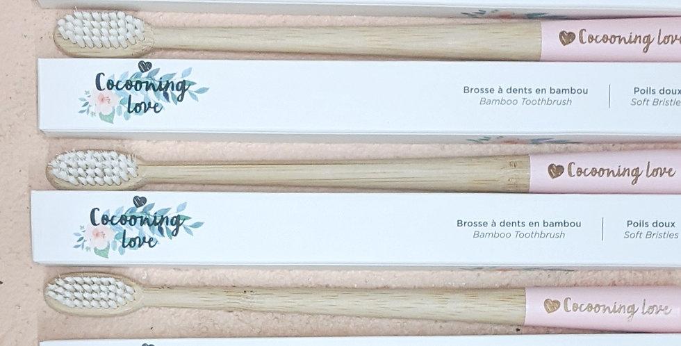 COCOONING LOVE - Brosse à dents en bambou