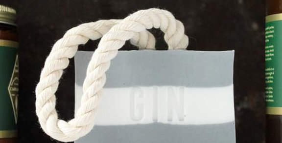 DOT & LIL - Gamme Clark & James / Savon Gin