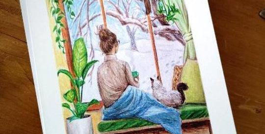 Cartes The Witch next door - Carte Fenêtre sur l'hiver