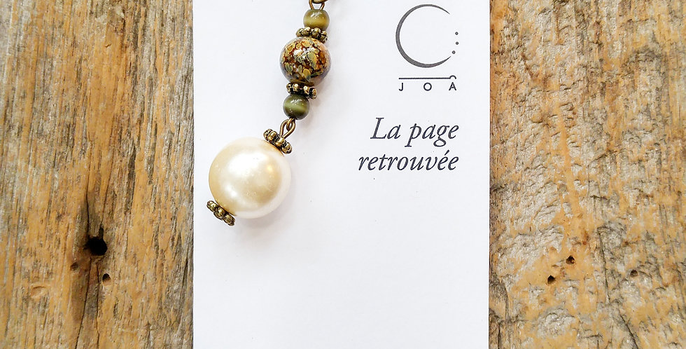 JOÂ - Marque-pages Perle