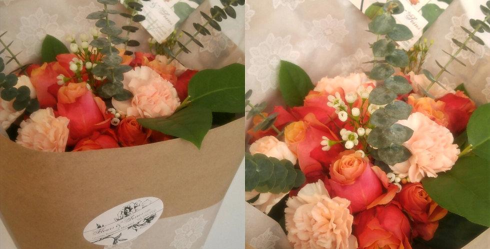 Bouquet mixte - Format gros/très gros