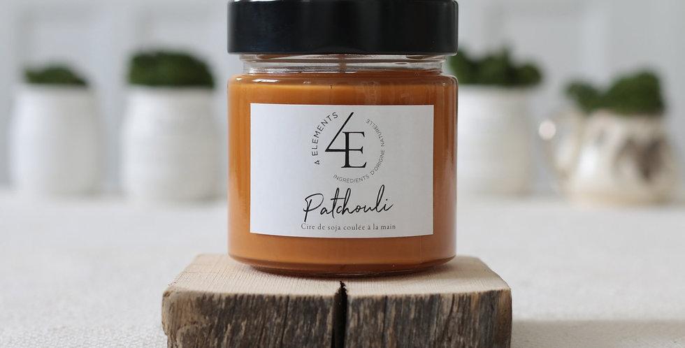 Chandelle 4 Éléments - Patchouli