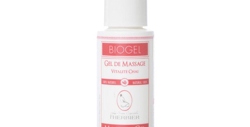 L'HERBIER -Gel de massage Vitalité Chai