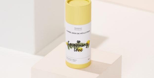 COCOONING LOVE - Déodorant Vegan Cyprés, Bois de Hô & Citron