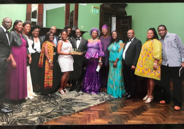 Association members with our GUBA award