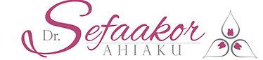 Dr Sefaakor Ahiaku avant garde logo and signaure