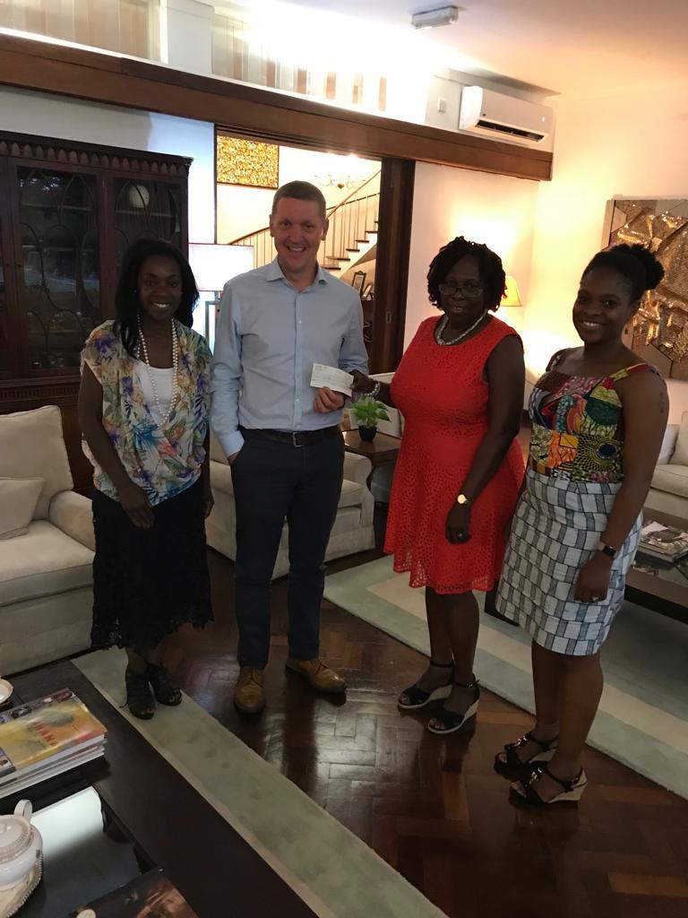 GDDA-UK Members meeting the British High Commissioner to Ghana