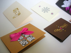 Embossed Christmas Card  #Classics