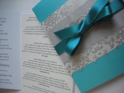 Pocket Fold Wedding Invitation