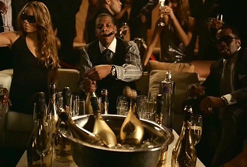 Jay Z, Beyoncé et P.Diddy, Armand de Brignac et Ciroc