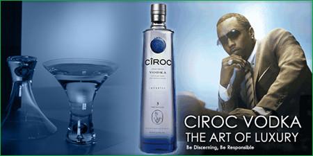 P. Diddy et Ciroc