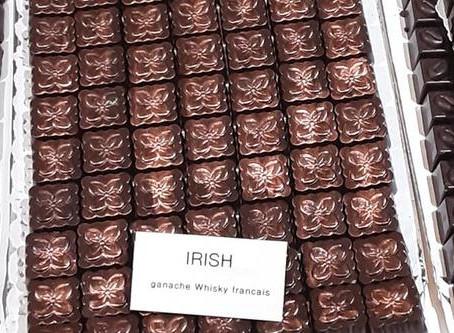 """Découvrez les """"irish chocolats"""" de Chocol'Art avec une ganache au whisky ASSEMBLAGE"""