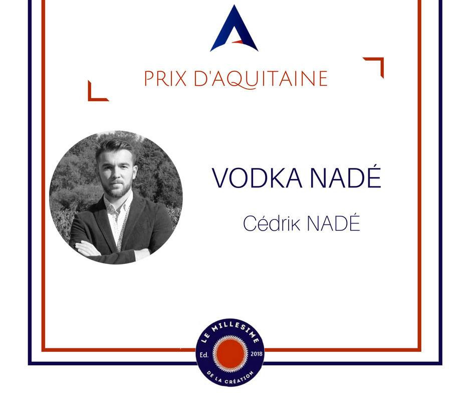 Prix d'aquitaine vodka nadé