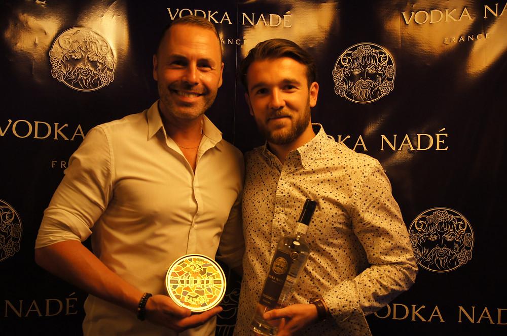 L'inauguration de la Vodka Nadé au Millésime Bordeaux