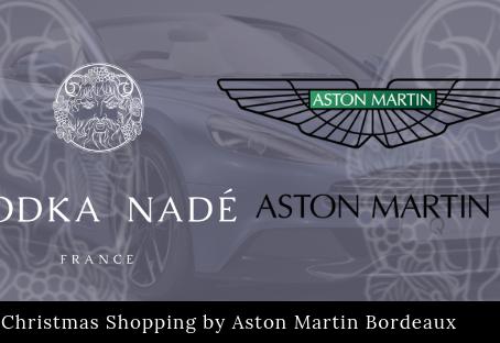 La Vodka Nadé, conviée par Aston Martin