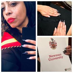 👏🏽👏🏽👏🏽💋 Congratulations _emfrecks #jemzclients #jemzclientview #nails #achievement #success #