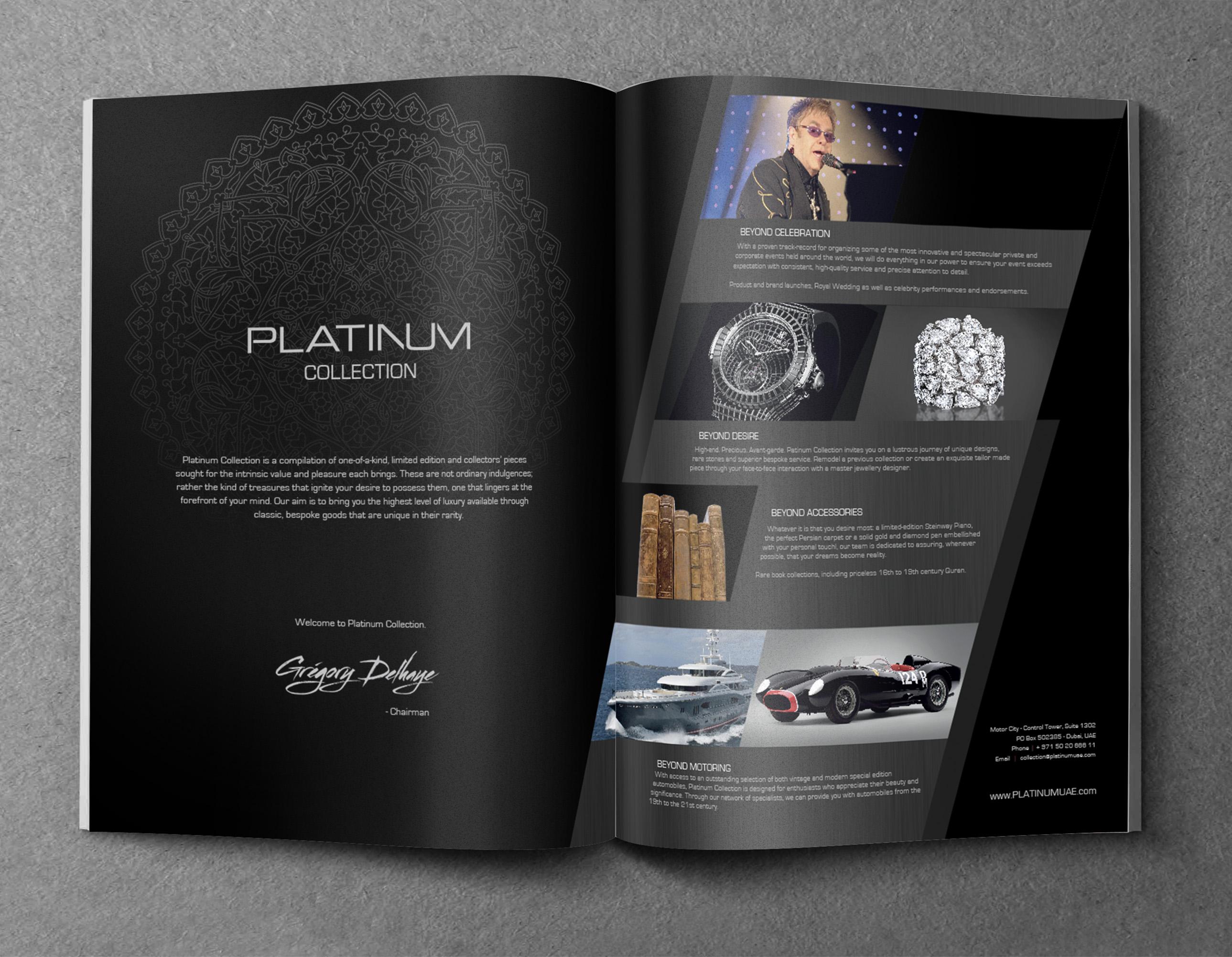 PLATINUM Print AD