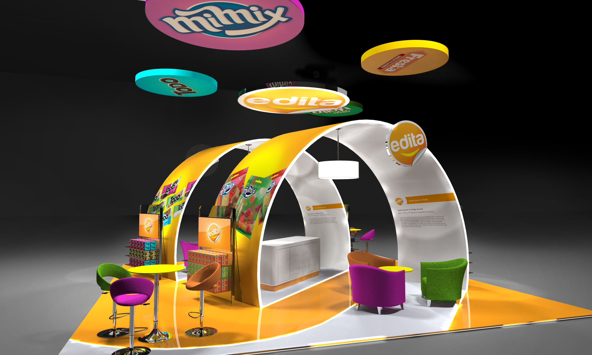 Edita Gulfood Exhibition Stand