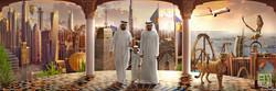 HH Sheikh Mohammed bin Rashid AL Maktoum and Son