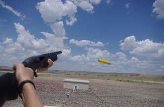 shooting trap with a 20ga.