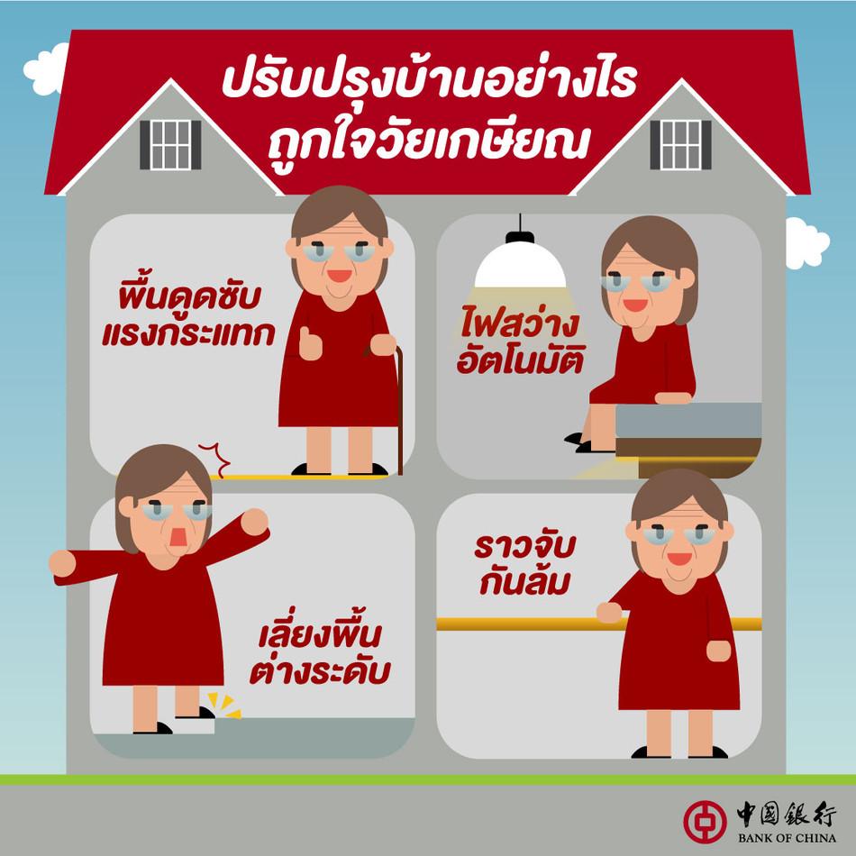 สินเชื่ออเนกประสงค์ - ปรับปรุงบ้านอย่างไร ถูกใจวัยเกษียณ