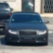 Plasti Dipped Audi