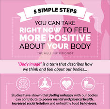 5 Simple Steps to Body Positivity Infographic